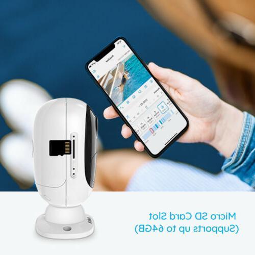 Wireless Security IP Camera Rechargeable Waterproof