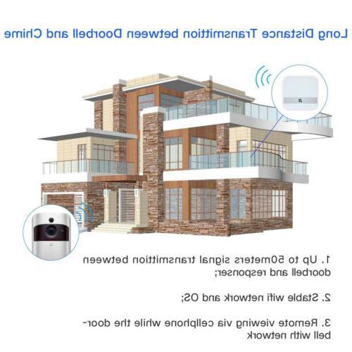 Wireless Smart DoorBell IR Video Intercom Home Kit