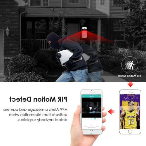 Wireless Smart WiFi DoorBell IR Visual Camera Intercom Home Kit