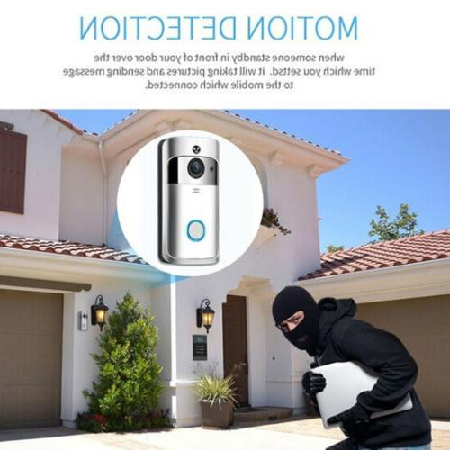 Wireless Door Bell IR Visual HD Smart Security New