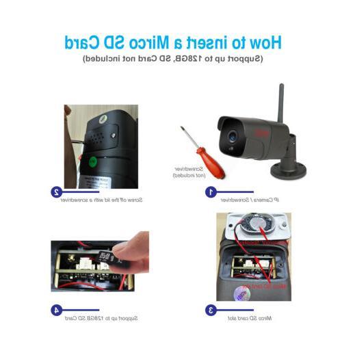 Tonton Wireless 1080P IP Outdoor Waterproof