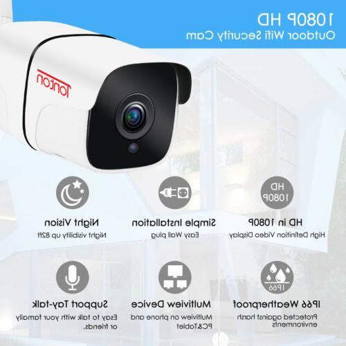Tonton IP 1080P WIFI Outdoor Security Waterproof