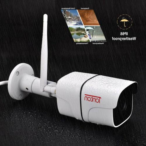 Tonton 1080P WIFI Outdoor Security Waterproof IR Vision