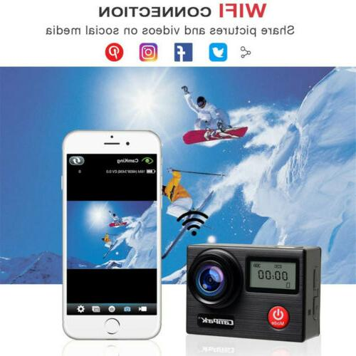 WIFI Action 1080P Touch Waterproof