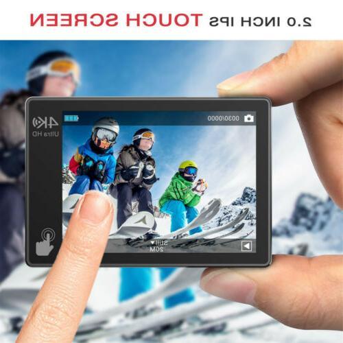 WIFI 1080P 4K Sport Touch Screen Waterproof
