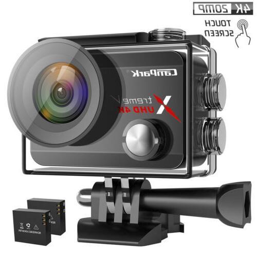 Campark X30 True 4K Action Camera 20MP Touch Screen WiFi Spo