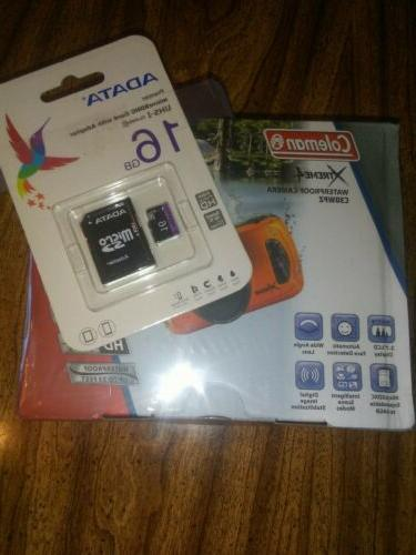 Coleman Xtreme4 Bonus Card w/ Adapter. Sealed.
