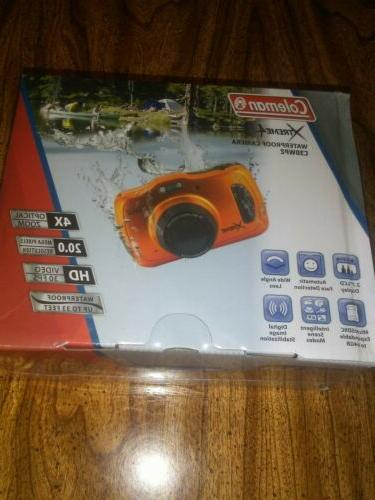 xtreme4 waterproof camera bonus sd card w