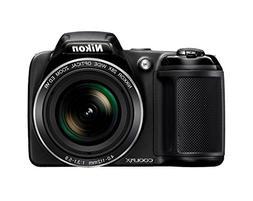 Nikon Coolpix L340 20.2 MP Digital Camera with 8GB memory ca