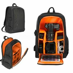 Large Camera Backpack Bag Case with Waterproof Cover for Can