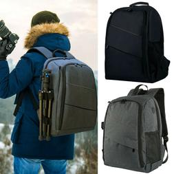 Large Camera Backpack With Waterproof Cover For Canon Nikon
