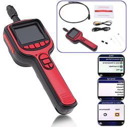 LCD Waterproof Car Engine Video Inspection Camera Recordable