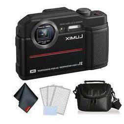 Panasonic Lumix DC-TS7 Waterproof Digital Camera  Bundle +LC