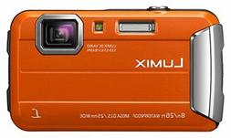 Panasonic Lumix DMC-FT30  Waterproof Digital Camera Orange