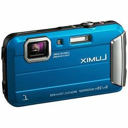 Panasonic Lumix DMC-FT30 Waterproof Action Camera - Blue