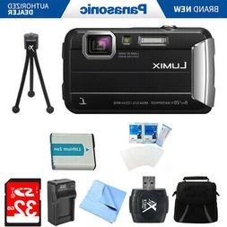 Panasonic LUMIX DMC-TS30 Active Tough Black Digital Camera 3