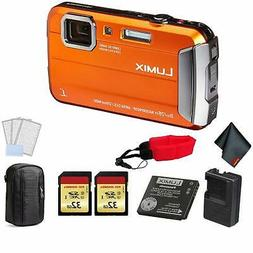 Panasonic Lumix DMC-TS30 Waterproof Digital Camera  Bundle +