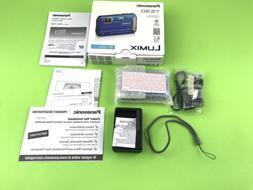 Panasonic LUMIX Model - DMC-TS30 Blue Digital Camera Waterpr