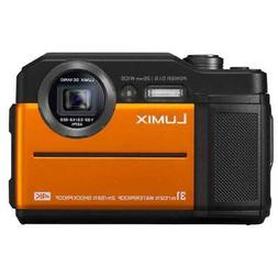 Panasonic LUMIX TS7 Waterproof Tough Digital Camera-Orange