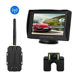 AUTO-VOX M1W Wireless Backup Camera Kit,IP 68 Waterproof LED