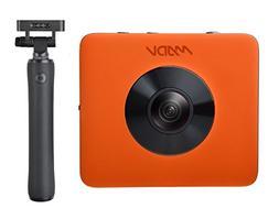 MADV Madventure 360 Camera, 4K Video, 24MP Photo, Waterproof
