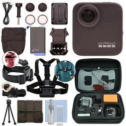 GoPro MAX 360 Action Camera Waterproof 5.6K Camcorder + Ulti