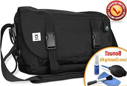 ROMS Messenger Camera Shoulder Bag - Waterproof, Lightweight