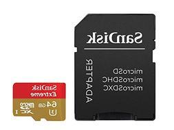 SanDisk Extreme 64 GB microSDXC