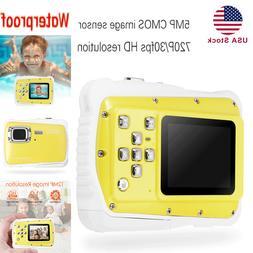 """Mini Waterproof Sport Digital Camera 2"""" HD 720P 12MP LCD Kid"""