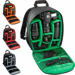 Multi-Function DSLR Waterproof Camera Shoulder Bag Backpack