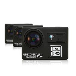 Aoile Multifunction Action Camera Ultra HD 4K WiFi Remote Co