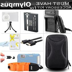 Must Have Accessory Kit For Olympus TOUGH TG-1 iHS, TG-1iHS,