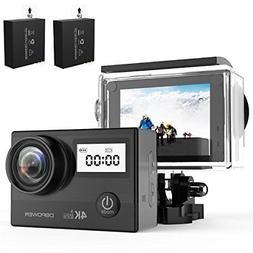 DBPOWER N5 Pro WiFi Action Camera 4K Ultra HD 20MP Sports Ca