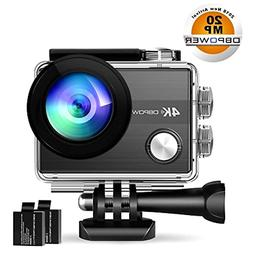 4K Action Camera By DBPOWER N5S 20MP WiFi Ultra HD EIS Sport