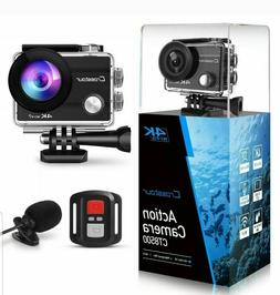 New Crosstour CT8500 4K 16MP Action Camera Underwater Cam Wi