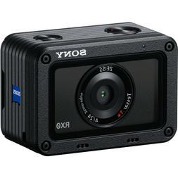 *NEW* Sony DSC-RX0  Waterproof 15.3 MP Digital Camera - Blac