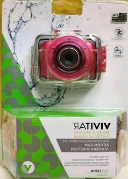NEW~Vivitar HD Action Waterproof Camera / Camcorder - DVR781