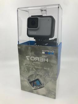 New GoPro HERO7 White Waterproof Action Camera, Touch Screen