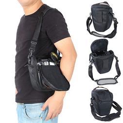 New Shockproof Waterproof For Nikon Camera Case Bag+Shoulder
