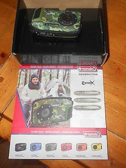 New Coleman Waterproof Digital Still & Video Camera Camoufla