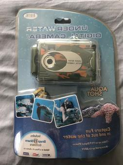 NEW Aqua Shot Waterproof Underwater Digital Camera up to 30