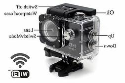 New Wifi Wireless Waterproof Sports DV 1080P HD Video Action