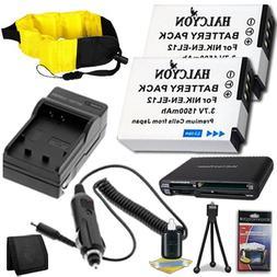 Nikon COOLPIX AW100 16 MP CMOS Waterproof Digital Camera Two