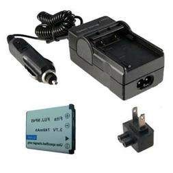 NP-45 Battery&Charger for FUJIFILM FinePix Z33 WP Waterproof