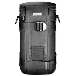 Neewer NW-L2060 Black Padded Water Resistant Lens Pouch with