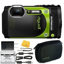 Olympus TG-870 Tough 16MP Waterproof Digital Camera with Bui