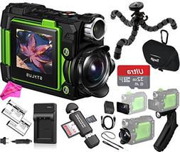 Olympus TG-Tracker 4K Video Stylus Action Camera  BUNDLE: TG