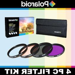 Polaroid Optics 4 Piece Filter Set  For The Canon Digital EO