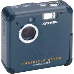 Pentax Optio 43WR 4MP Water Resistant Digital Camera with 2.