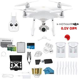 DJI Phantom 4 PRO V2.0 Quadcopter Drone with 1-inch 20MP 4K